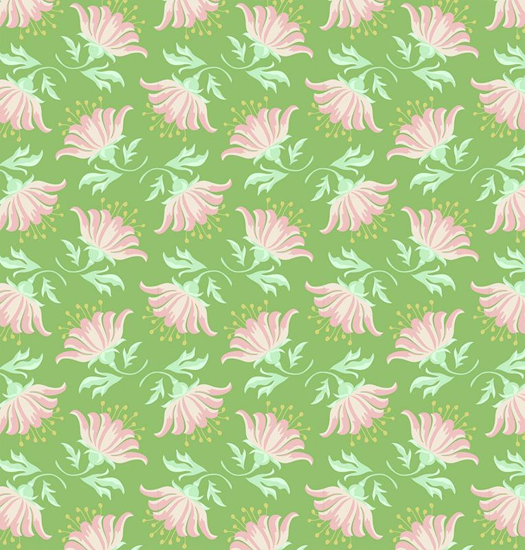 Ткань Tilda Painted Lily, цвет: зеленый, розовый, белый, 50 х 55 см. 210480896C0042416Ткань Tilda Painted Lily, выполненная из натурального хлопка, используется для творческих работ. Хлопковые ткани не выцветают, не линяют, не деформируются при стирке и в процессе носки готовых изделий, сшитых из этих тканей.Ткань Tilda Painted Lily можно без опасений использовать в производстве одежды для самых маленьких детей, в производстве игрушек. Также ткань подойдет для декора и оформления творческих работ в различных техниках. Ширина: 55 см. Длина: 50 см.
