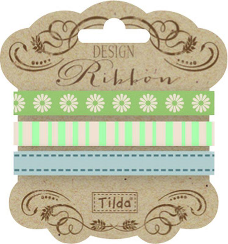 Набор лент Tilda, 200 х 1 см, 3 шт. 210480936NLED-454-9W-BKЛенточки Tilda идеально подойдут для декора ваших творческих работ.