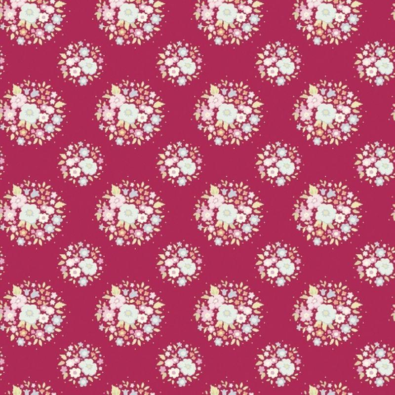 Ткань Tilda Thula, цвет: бордовый, розовый, зеленый, 50 х 55 см. 21048102144275Ткань Tilda Thula, выполненная из натурального хлопка, используется для творческих работ. Хлопковые ткани не выцветают, не линяют, не деформируются при стирке и в процессе носки готовых изделий, сшитых из этих тканей.Ткань Tilda Thula можно без опасений использовать в производстве одежды для самых маленьких детей, в производстве игрушек. Также ткань подойдет для декора и оформления творческих работ в различных техниках. Ширина: 55 см. Длина: 50 см.