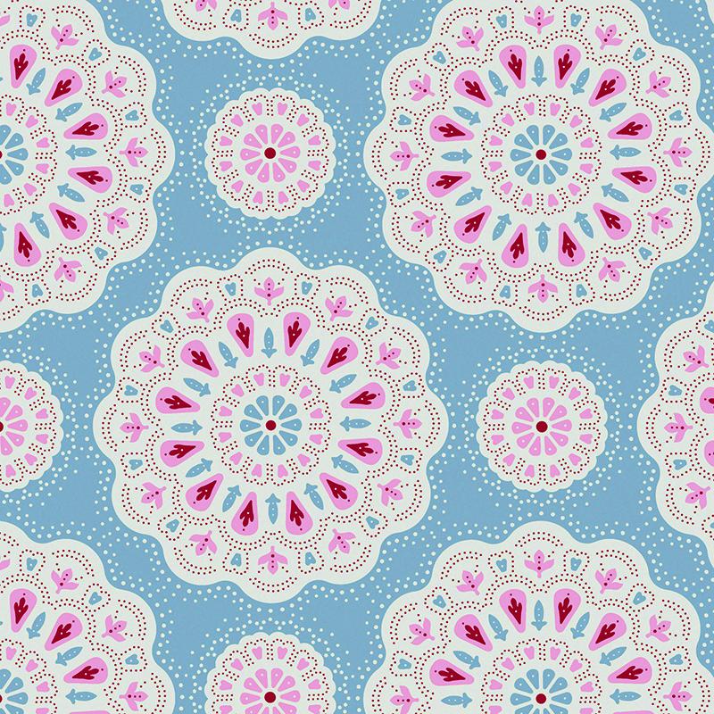 Ткань Tilda Doilies, цвет: голубой, розовый, белый, 50 х 55 см. 210481024NLED-454-9W-BKТкань Tilda Doilies, выполненная из натурального хлопка, используется для творческих работ. Хлопковые ткани не выцветают, не линяют, не деформируются при стирке и в процессе носки готовых изделий, сшитых из этих тканей.Ткань Tilda Doilies можно без опасений использовать в производстве одежды для самых маленьких детей, в производстве игрушек. Также ткань подойдет для декора и оформления творческих работ в различных техниках. Ширина: 55 см. Длина: 50 см.