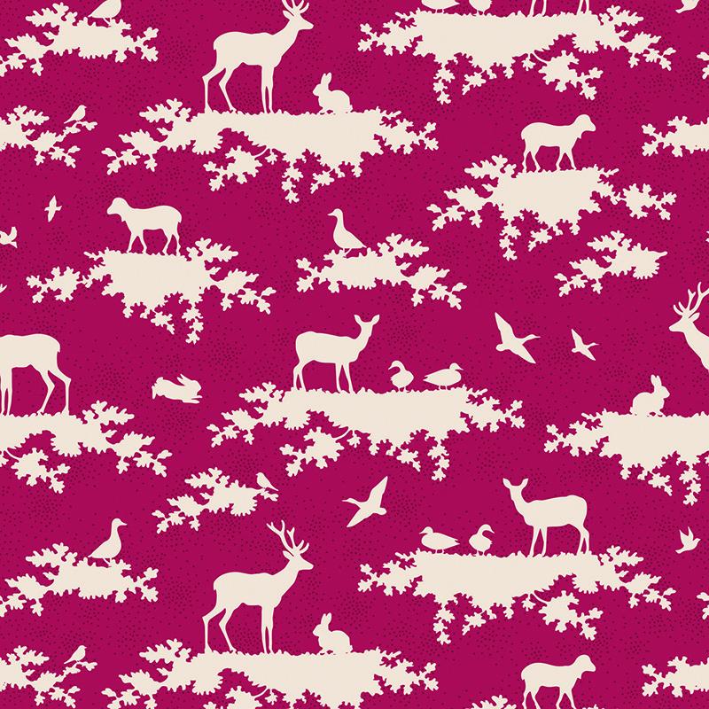 Ткань Tilda Forest, цвет: бордовый, белый, 50 х 55 см. 21048102819201Ткань Tilda Forest, выполненная из натурального хлопка, используется для творческих работ. Хлопковые ткани не выцветают, не линяют, не деформируются при стирке и в процессе носки готовых изделий, сшитых из этих тканей.Ткань Tilda Forest можно без опасений использовать в производстве одежды для самых маленьких детей, в производстве игрушек. Также ткань подойдет для декора и оформления творческих работ в различных техниках. Ширина: 55 см. Длина: 50 см.