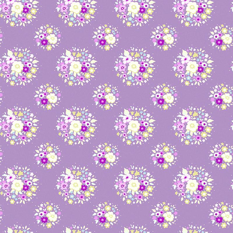 Ткань Tilda Thula, цвет: фиолетовый, белый, светло-бежевый, 50 х 55 см. 210481068K100Ткань Tilda Thula, выполненная из натурального хлопка, используется для творческих работ. Хлопковые ткани не выцветают, не линяют, не деформируются при стирке и в процессе носки готовых изделий, сшитых из этих тканей.Ткань Tilda Thula можно без опасений использовать в производстве одежды для самых маленьких детей, в производстве игрушек. Также ткань подойдет для декора и оформления творческих работ в различных техниках. Ширина: 55 см. Длина: 50 см.