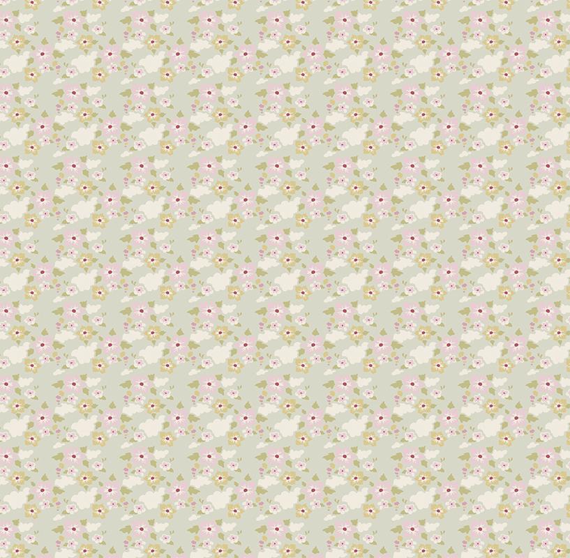 Ткань Tilda, цвет: серый, белый, зеленый, 1 х 1,1 м. 210481723NLED-454-9W-BKТкань Tilda, выполненная из натурального хлопка, используется для творческих работ. Хлопковые ткани не выцветают, не линяют, не деформируются при стирке и в процессе носки готовых изделий, сшитых из этих тканей.Ткань Tilda можно без опасений использовать в производстве одежды для самых маленьких детей, в производстве игрушек. Также ткань подойдет для декора и оформления творческих работ в различных техниках. Ширина: 110 см. Длина: 1 м.