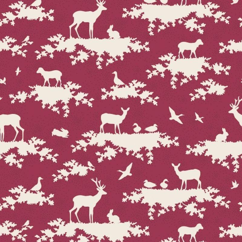 Ткань Tilda Forest, цвет: бордовый, белый, 1 х 1,1 м. 210484008NLED-454-9W-BKТкань Tilda Forest, выполненная из натурального хлопка, используется для творческих работ. Хлопковые ткани не выцветают, не линяют, не деформируются при стирке и в процессе носки готовых изделий, сшитых из этих тканей.Ткань Tilda Forest можно без опасений использовать в производстве одежды для самых маленьких детей, в производстве игрушек. Также ткань подойдет для декора и оформления творческих работ в различных техниках. Ширина: 110 см. Длина: 100 см.