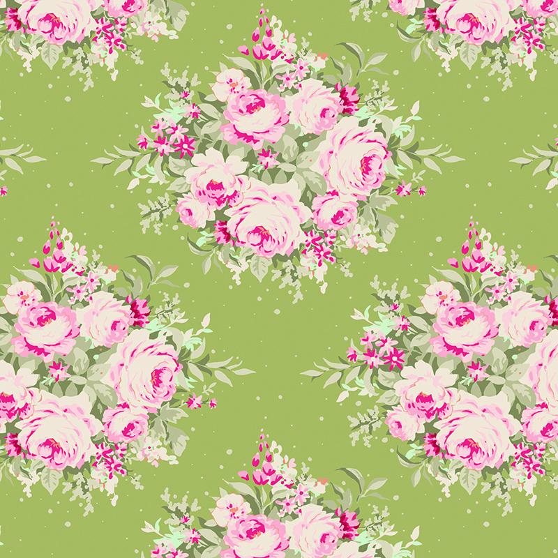 Ткань Tilda Floribunda, цвет: зеленый, розовый, 1 х 1,1 м. 210484041210484041Ткань Tilda Floribunda, выполненная из натурального хлопка, используется для творческих работ. Хлопковые ткани не выцветают, не линяют, не деформируются при стирке и в процессе носки готовых изделий, сшитых из этих тканей.Ткань Tilda Floribunda можно без опасений использовать в производстве одежды для самых маленьких детей, в производстве игрушек. Также ткань подойдет для декора и оформления творческих работ в различных техниках. Ширина: 110 см. Длина: 100 см.