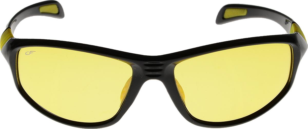 Очки солнцезащитные мужские Cafa France, цвет: черный. CF301YBM8434-58AEОчки Cafa France - это стильный аксессуар, незаменимый для всех водителей. Очки водителя Cafa France представлены в двух типах линз, которые обеспечивают максимальный комфорт при вождении в любое время суток и в любую погоду. Очки с желтыми линзами уменьшают ослепление от фар встречных автомобилей и защищают от бликов. В снег, дождь, туман, и даже ночью и в сумерках вы можете быть уверены, что изображение останется четкими и контрастными. Создаваемый эффект солнца способствует улучшению настроения, а также снижает утомляемость и сонливость. Очки с темными линзами Cafa France гарантируют 100% защиту от УФ-лучей, а также защищают от бликов и отраженного света, что существенно снижает риск ДТП. В отличие от обычных солнцезащитных очков, очки водителя Cafa France обладают оптимальной степенью затемнения, благодаря чему обеспечивается идеальный обзор дороги.Очки водителя Cafa France имеют самую высокую эффективность поляризации - 99,9% (видимость без бликов), линзы, состоят из 8 слоев обеспечивают чистое изображение и отсутствие искажений, комфортное цветовосприятие, а также защиту от ультрафиолетового излучения. Кроме того, обладают улучшенными износостойкими и ударопрочными характеристиками по многим параметрам.При разработке Очков водителя особое внимание уделяется оправам, которые отвечают всем требованиям водителей: легкость, прочность, удобная посадка. Примечательно, что все модели Cafa France отличаются актуальным и стильным дизайном, поэтому удачно дополнят любой образ. С очками Cafa France любая дорога станет комфортной и безопасной!