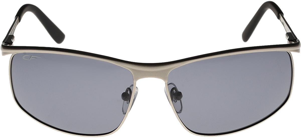 Очки солнцезащитные мужские Cafa France, цвет: серебристый. CF8537BM8434-58AEС очками Cafa France любая дорога станет комфортной и безопасной!Очки Cafa France - это стильный аксессуар, незаменимый для всех водителей. Очки водителя Cafa France представлены в двух типах линз, которые обеспечивают максимальный комфорт при вождении в любое время суток и в любую погоду. Очки с желтыми линзами уменьшают ослепление от фар встречных автомобилей и защищают от бликов. В снег, дождь, туман, и даже ночью и в сумерках вы можете быть уверены, что изображение останется четкими и контрастными. Создаваемый эффект солнца способствует улучшению настроения, а также снижает утомляемость и сонливость. Очки с темными линзами Cafa France гарантируют 100% защиту от УФ-лучей, а также защищают от бликов и отраженного света, что существенно снижает риск ДТП. В отличие от обычных солнцезащитных очков, очки водителя Cafa France обладают оптимальной степенью затемнения, благодаря чему обеспечивается идеальный обзор дороги.Очки водителя Cafa France имеют самую высокую эффективность поляризации - 99,9% (видимость без бликов), линзы, состоят из 8 слоев обеспечивают чистое изображение и отсутствие искажений, комфортное цветовосприятие, а также защиту от ультрафиолетового излучения. Кроме того, обладают улучшенными износостойкими и ударопрочными характеристиками по многим параметрам.При разработке Очков водителя особое внимание уделяется оправам, которые отвечают всем требованиям водителей: легкость, прочность, удобная посадка. Примечательно, что все модели Cafa France отличаются актуальным и стильным дизайном, поэтому удачно дополнят любой образ.