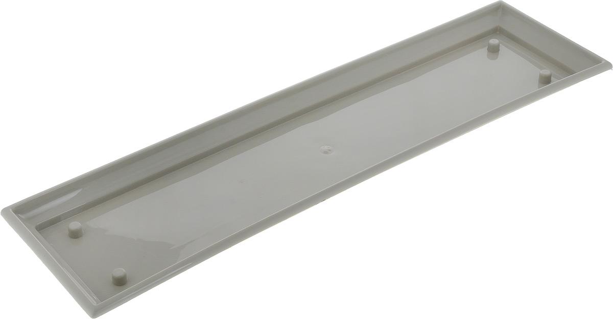 Поддон для балконного ящика Santino, цвет: песочный, длина 55 см531-103Поддон для балконного ящика Santino выполнен из прочного цветного пластика. Изделие предназначено для стока воды.
