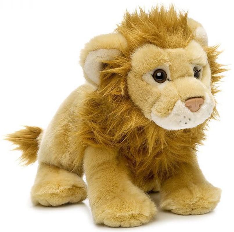 WWF Мягкая игрушка Лев 20 см wwf мягкая игрушка черепаха 30 см