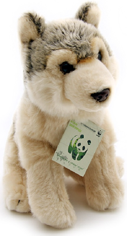WWF Мягкая игрушка Волк 20 см wwf мягкая игрушка черепаха 30 см