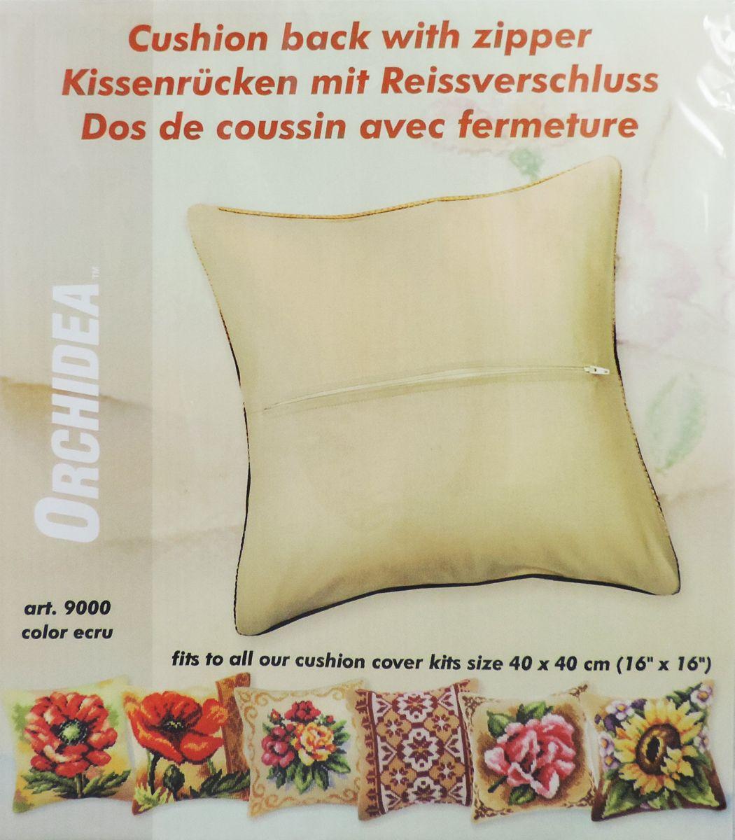 Обратная сторона подушки Orchidea, 45 х 45 см, цвет: бежевыйNLED-454-9W-BKОбратная сторона подушки с уже вшитой молнией. Идеальна для подушек размером 40х40 см. В центре вшит замок-молния, вам останется только пришить ее к декоративной части подушки. Состав: 100% хлопок