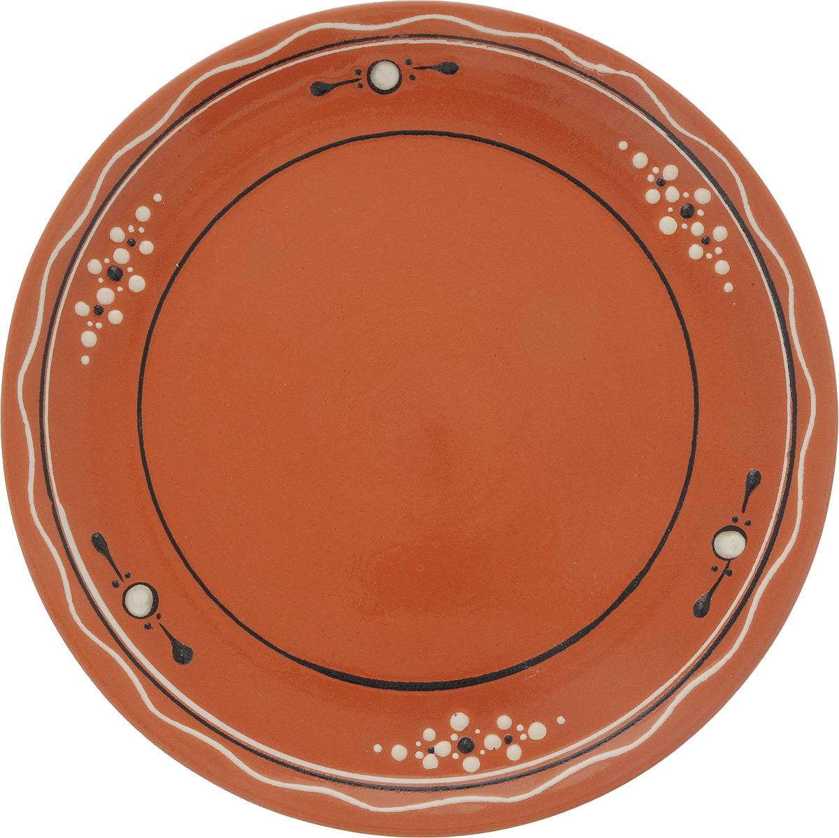 Тарелка для второго Ломоносовская керамика Оятская, диаметр 24 смFS-91909Тарелка для второго Ломоносовская керамика Оятская, изготовленная из глины, имеет изысканный внешний вид. Оригинальный дизайн тарелки украшен эксклюзивным орнаментом, который придется по вкусу и ценителям классики, и тем, кто предпочитает современный стиль. Диаметр тарелки: 24 см. Высота: 2,5 см.