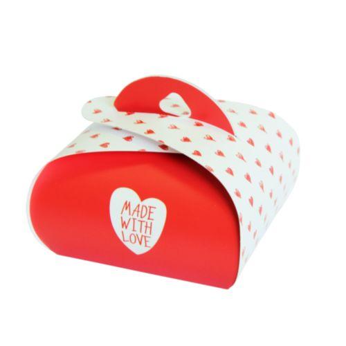 Подарочная коробочка Бонбоньерка Hobby&You Made With Love, 2 шт1211949Подарочная коробка - это наилучшее решение, если вы хотите порадовать вашихблизких и создать праздничное настроение, ведь подарок, преподнесенный воригинальной упаковке, всегда будет самым эффектным и запоминающимся.Окружите близких людей вниманием и заботой, вручив презент в нарядном,праздничном оформлении.