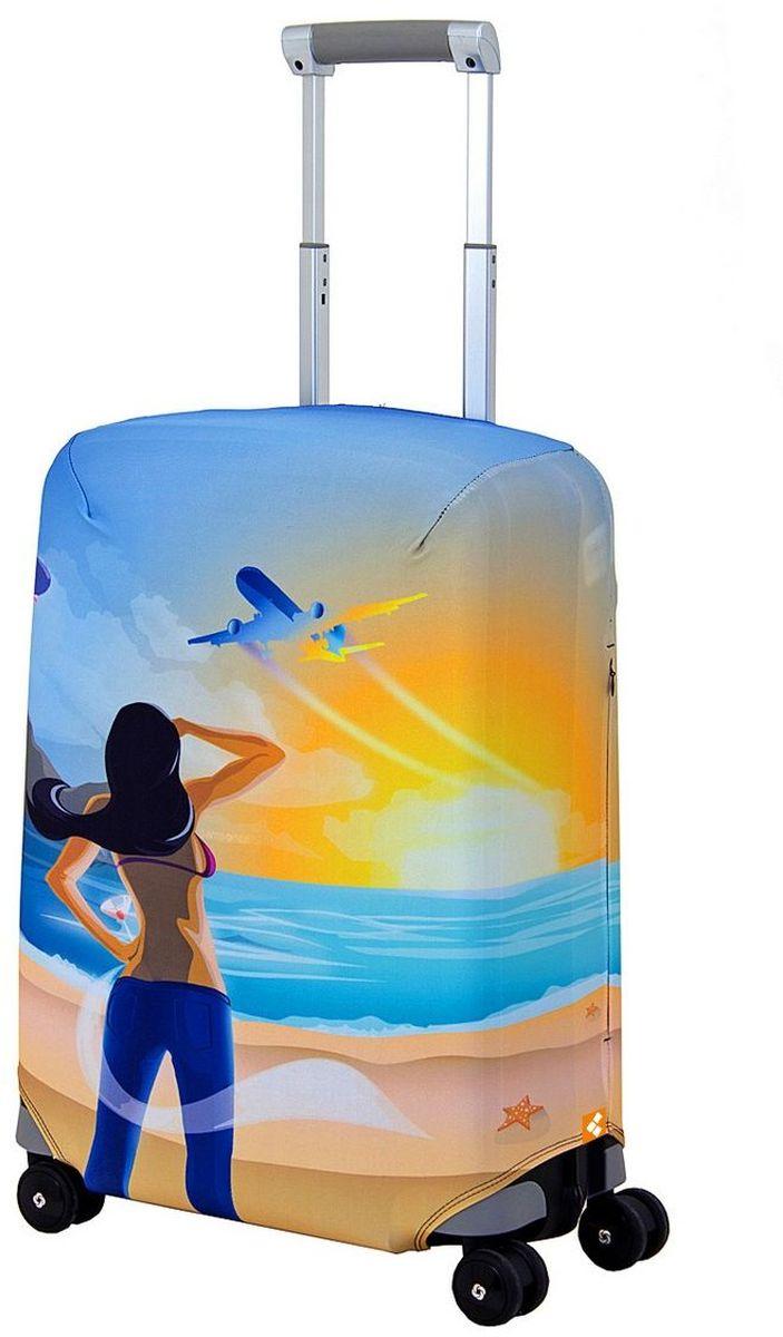 Чехол для чемодана Routemark Hellow Yellow, размер S (50-55 см)КомфортЧехол Routemark подходит для чемоданов маленьких размеров высотой от 50 до 55 см (19-21 дюйма) (мерить от пола). Изготовлен из спандекса (240 г/2м) и имеет упрочнённые швы.Чехлы Routemark отличаются плотным материалом и наличием 2 специальных потайных молний для боковых ручек с двух сторон. Внизу чехла - молния трактор, дополнительная резинка с фастексом для лучшей усадки. В комплекте предусмотрен отдельный аксессуар - мешочек, который можно использовать для разных других полезных мелочей (например, для хранения салфеток, денег, солнцезащитных очков, телефона, карты от номера и т.д.). У чехла стойкая сублимационная печать.Чехол можно стирать в стиральной машине.