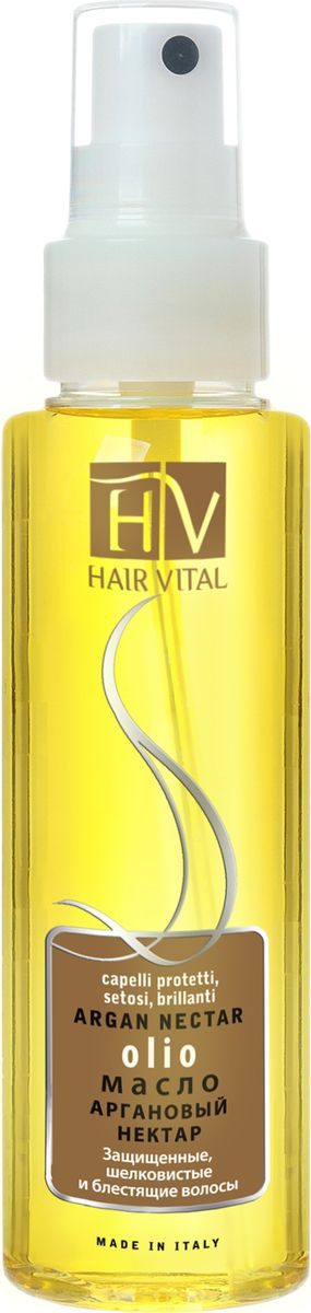 Hair Vital Масло Аргановый нектар, 100 млMP59.4D• Способствует восстановлению структуры волос• Склеивает рассеченные кончики волос, препятствуют их дальнейшему расщеплению• Интенсивно увлажняет и питает• Придает волосам ослепительный блеск и жизненную силу• Не утяжеляет волосы Активные компоненты: аргановое масло, витамин Е, OG2