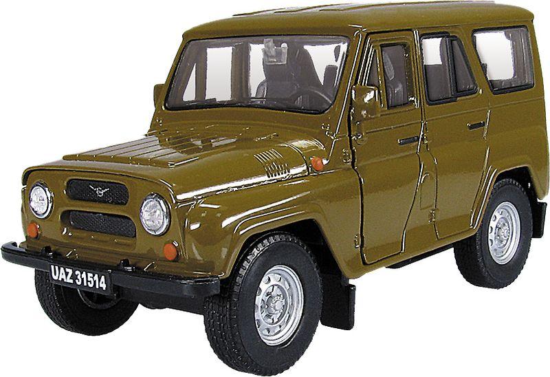 Autotime Модель автомобиля УАЗ 31514 Гражданская autotime модель автомобиля уаз 31514 советская милиция