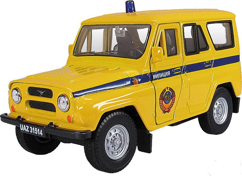 Autotime Модель автомобиля УАЗ-31514 Советская милиция машинки autotime машина uaz 31514 почта