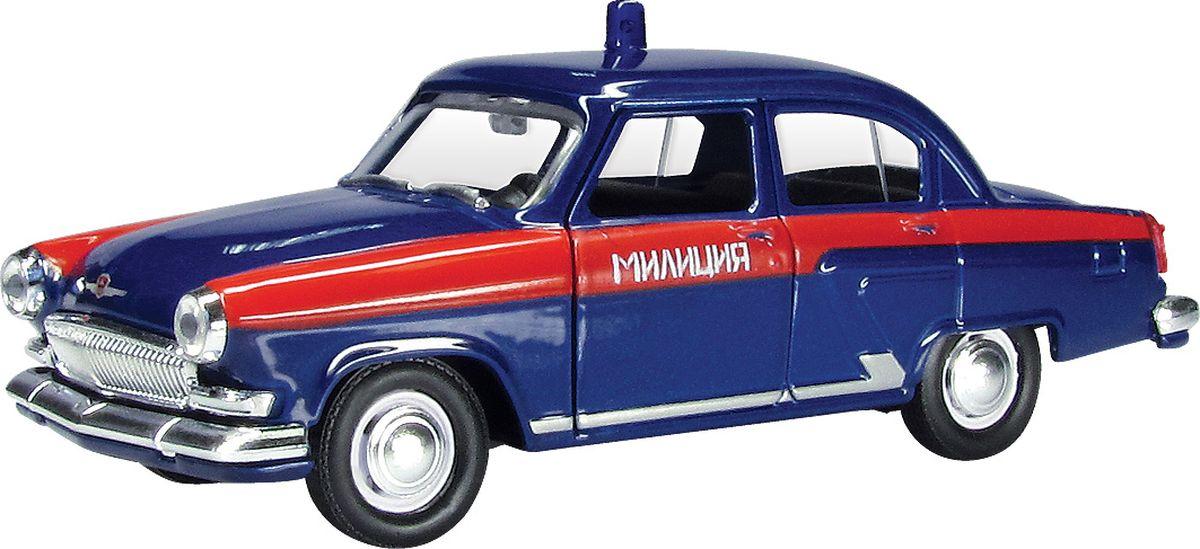 Autotime Модель автомобиля ГАЗ-21 Волга Советская милиция autotime модель автомобиля уаз 31514 советская милиция