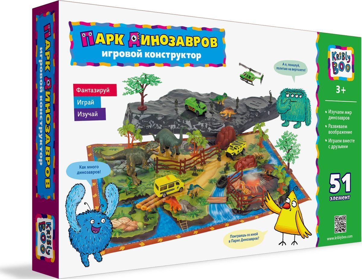 Kribly Boo Конструктор Парк динозавров kribly boo мягкая игрушка песик спорт 4 сказки