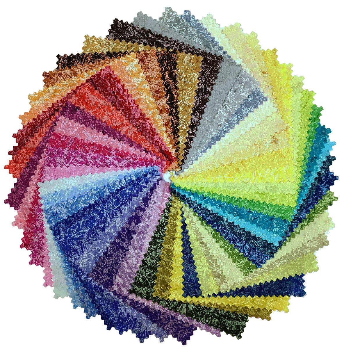 Набор лоскутов для пэчворка и лоскутных работ Michel Mille, 12,5 х 12,5 см, 51 шт. 233385233385