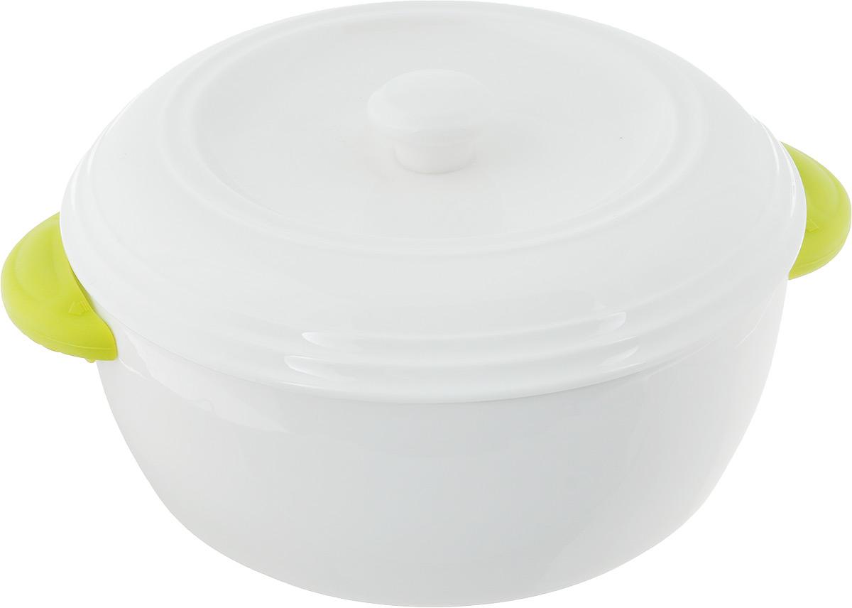 Кастрюля керамическая Oursson, с крышкой, 1,7 л54 009312Кастрюля Oursson с крышкой выполнена из высококачественной керамики. Изделие покрыто уникальной гладкой эмалью, устойчивой к трещинам и царапинам. Непористая поверхность исключает образование бактерий. Кастрюля устойчива к резким перепадам температур. Ее можно поставить на мраморную столешницу или любую другую холодную поверхность. Кастрюля снабжена силиконовыми накладками на ручках, для дополнительного удобства в использовании.Изделие можно использовать в духовке и СВЧ, при -20°C и до +220°C. Запрещено готовить на открытом огне.Можно мыть в посудомоечной машине.Диаметр по верхнему краю: 25 см.Диаметр основания: 19,5 см. Высота стенок: 9 см.Толщина стенок: 0,5 мм.