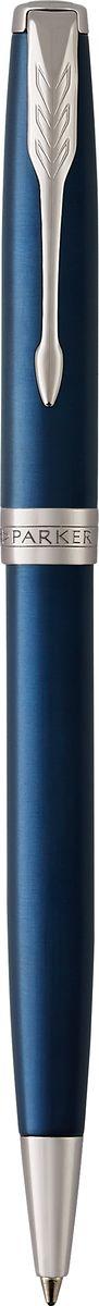 Parker Ручка шариковая Sonnet Laque Blue CT72523WDШариковая ручка Parker Sonnet Laque Blue CT - идеальный инструмент для письма. Материал ручки - нержавеющая сталь с покрытием глянцевого лака изысканного синего цвета, в отделке применяется палладий. Способ подачи стержня: поворотный.Данный пишущий инструмент поставляется в фирменной подарочной коробке премиум-класса, что делает его превосходным подарком.Произведено во Франции.