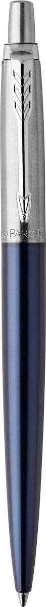 Parker Ручка шариковаяJotter Royal цвет синийPARKER-1953186Марка Parker гарантирует полную уверенность в превосходном качестве товара. Ручка Parker Jotter Royal будет не только долго служить, но и неизменно радовать удобством и легкостью письма, надежностью в эксплуатации и прекрасным эстетическим исполнением. Удивительное разнообразие моделей, а также великолепие и надежность отделки поверхностей позволяют удовлетворить даже самые взыскательные вкусы, обеспечивая при этом безукоризненность исполнения самых разных задач в процессе письма и соответствие различным стилям письма.