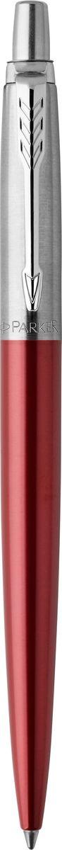 Parker Ручка шариковая Jotter Kensington Red CT шариковая ручка автоматическая parker jotter core k63 kensington red ct синий m