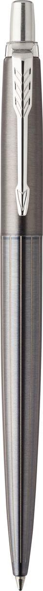 Parker Ручка шариковая Jotter Premiun Oxford Gray Pin CT1106100Шариковая ручка Parker Jotter Premiun Oxford Gray Pin CT изготовлена из полированной нержавеющей стали с лазерной гравировкой на корпусе. Способ подачи стержня: кнопочный. Ручка упакована в фирменный футляр.Бренд Parker гарантирует полную уверенность в превосходном качестве товара. Ручка Parker будет не только долго служить, но и неизменно радовать удобством и легкостью письма, надежностью в эксплуатации и прекрасным эстетическим исполнением. Удивительное разнообразие моделей, а также великолепие и надежность отделки поверхностей позволяют удовлетворить даже самые взыскательные вкусы, обеспечивая при этом безукоризненность исполнения самых разных задач в процессе письма.
