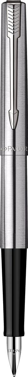 Parker Ручка перьевая Jotter Stainless Steel CT72523WDПерьевая ручка Parker Jotter Stainless Steel CT изготовлена в тонком корпусе из полированной нержавеющей стали цвета хром.Корпус ручки выполнен из нержавеющей стали, а хранится она в фирменном футляре с 2-умя сменными стержнями.Бренд Parker гарантирует полную уверенность в превосходном качестве товара. Ручка Parker будет не только долго служить, но и неизменно радовать удобством и легкостью письма, надежностью в эксплуатации и прекрасным эстетическим исполнением. Удивительное разнообразие моделей, а также великолепие и надежность отделки поверхностей позволяют удовлетворить даже самые взыскательные вкусы, обеспечивая при этом безукоризненность исполнения самых разных задач в процессе письма.