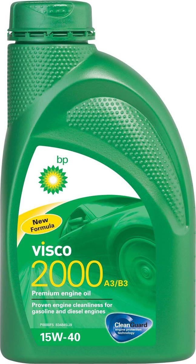 Моторное масло BP Visco 2000 A3/B3 15W-40 12, 1 лS03301004ПрименениеBP Visco 2000 A3/B3 15W-40 с технологией защиты двигателя Cleanguard – это премиальное моторное масло предназначенное для использования в автомобильных бензиновых и дизельных двигателях, где производитель рекомендует масла соответствующие стандартам API SL/CF или ACEA A3/B3, или более ранним спецификациям. Основные преимуществаBP Visco с технологией защиты двигателя Cleanguard: поддерживает чистоту Вашего двигателя длительное время.BP Visco 2000 A3/B3 15W-40 – качественное моторное масло со следующими преимуществами:- создано для бензиновых и дизельных двигателей;- доказанная чистота двигателя;- надёжная защита двигателя в нормальных режимах вождения.Спецификации API SL/CFACEA A3/B3MB-Approval 229.1VW 501 01 / 505 00Meets Fiat 9.55535-D2