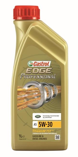Моторное масло Castrol EdgeProfessional A3 0W-40, 1 лS03301004ОписаниеПолностью синтетическое моторное масло Castrol EDGE Professional произведено сиспользованием новейшей технологии TITANIUM FST™.Технология TITANIUM FST™ на физическом уровне меняет поведение масла Castrol EDGEPROFESSIONAL в условиях экстремальных нагрузок.Основой технологии TITANIUM FST™ являются полимерные металлоорганические соединения,содержащие титан. Таким образом, титан становится компонентом масла и работает в унисон стехнологией усиленной масляной плёнки Fluid Strength Technology (FST™), которая была внедренав 2011 году. Испытания подтвердили, что TITANIUM FST™ в 2 раза увеличивает прочностьмасляной плёнки, предотвращая её разрыв и снижая трение для максимальнойпроизводительности двигателя.Используя опыт сотрудничества с автопроизводителями, мы применили такую же технологию,которая ранее использовалась только при производстве масла для конвейерной заливки.Моторное масло Castrol EDGE Professional прошло многоуровневую микрофильтрацию. Контролькачества осуществляется с использованием новой технологии оптического измерения частицCastrol – Optical Particle Measurement System (OPMS).Castrol EDGE Professional - первое в мире масло, сертифицированное как CO2- нейтральное всоответствии с мировыми стандартами.ПрименениеCastrol EDGE Professional A3 0W-40 предназначено для бензиновых и дизельных двигателейавтомобилей, в которых производитель агрегата предписывает использовать моторные масла,соответствующие классу вязкости SAE 0W-40 и спецификациям ACEA A3/B3, A3/B4, API SN/CF илиболее ранним.Castrol EDGE Professional A3 0W-40 рекомендовано и одобрено ведущими производителямитехники (см. раздел спецификаций и руководство по эксплуатации автомобиля).ПреимуществаCastrol EDGE Professional A3 0W-40 обеспечивает надёжную и максимально эффективную работусовременных высокотехнологичных двигателей, созданных по новейшим инженернымразработкам, которые работают в условиях ужесточённых допусков производителей тех