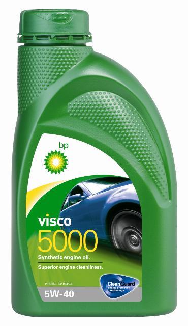 Моторное масло BP Visco 5000 5W-40 12, 1 л3926ОписаниеМоторные масла BP Visco CleanGuard™ препятствуют образованию отложений в двигателе, обеспечивая его бесперебойную работу. Система Clean Guard™ защищает двигатель и дольше поддерживает его в чистоте.Чистый двигатель прослужит дольше и будет работать более эффективно.В условиях повседневной эксплуатации автомобиля в двигателе скапливаются продукты сгорания. Если эти примеси своевременно не удалить, они будут образовывать отложения, которые зачастую становятся главной причиной снижения эффективности работы двигателя и его поломок. Моторные масла BP Visco CleanGuard™ содержат особые компоненты, которые предотвращают образование вредных отложений на стенках рабочих поверхностей двигателя.ПрименениеМоторное масло BP Visco 5000 5W-40 предназначено для бензиновых и дизельных двигателей автомобилей, где производитель рекомендует смазочные материалы класса вязкости SAE 5W-40 спецификаций ACEA A3/B3, A3/B4, API SN/CF или более ранних.BP Visco 5000 5W-40 одобрено к применению большим количеством производителей техники (см. раздел спецификаций и руководство по эксплуатации автомобиля).ПреимуществаBP Visco 5000 5W-40 – синтетическое моторное масло премиум-класса со следующими преимуществами:• превосходная чистота двигателя;• повышенная защита двигателя в нормальных условиях эксплуатации;• улучшенная экономия топлива.СпецификацииACEA A3/B3, A3/B4API SN/CFBMW Longlife-01MB-Approval 229.3Renault RN 0700 / RN 0710VW 502 00/ 505 00