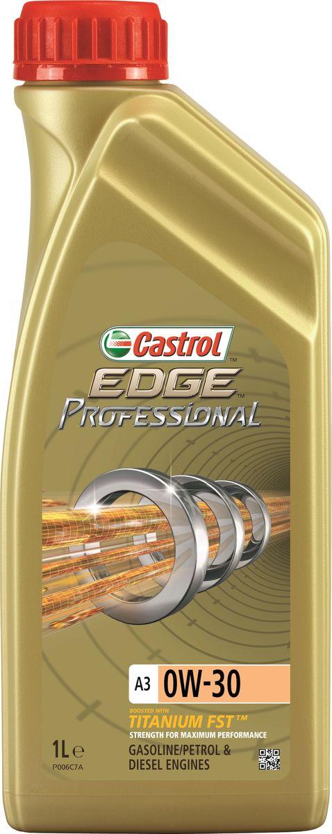 Масло моторное Castrol Edge Professional, синтетическое, A3 0W-30, 1 л10503Полностью синтетическое моторное масло Castrol EDGE Professional произведено с использованием новейшей технологии Titanium FST™. Технология Titanium FST™ на физическом уровне меняет поведение масла Castrol Edge Professional в условиях экстремальных нагрузок. Основой технологии Titanium FST™ являются полимерные металлоорганические соединения, содержащие титан. Таким образом, титан становится компонентом масла и работает в унисон с технологией усиленной масляной плёнки Fluid Strength Technology (FST™), которая была внедрена в 2011 году. Испытания подтвердили, что Titanium FST™ в 2 раза увеличивает прочность масляной плёнки, предотвращая её разрыв и снижая трение для максимальной производительности двигателя. Используя опыт сотрудничества с автопроизводителями, применили такую же технологию, которая ранее использовалась только при производстве масла для конвейерной заливки. Моторное масло Castrol Edge Professional прошло многоуровневую микрофильтрацию. Контроль качества осуществляется с использованием новой технологии оптического измерения частиц Castrol - Optical Particle Measurement System (OPMS). Castrol Edge Professional - первое в мире масло, сертифицированное как CO2- нейтральное в соответствии с мировыми стандартами. Применение. Castrol Edge Professional A3 0W-30 предназначено для бензиновых и дизельных двигателей, в которых производитель агрегата предписывает использовать моторные масла, соответствующие степени вязкости SAE 0W-30 и отраслевым стандартам ACEA A3/B3, A3/B4, API SL/CF или более ранним. Castrol Edge Professional A3 0W-30 рекомендовано и одобрено к применению в двигателях автомобилей, требующих использования смазочных материалов, апробированных согласно спецификациям BMW Longlife-01, MB-Approval 229.3/ 229.5 или VW 502 00/ 505 00 в классе вязкости SAE 0W-30. Преимущества. Castrol Edge Professional A3 0W-30 обеспечивает надёжную и максимально эффективную работу современных выс