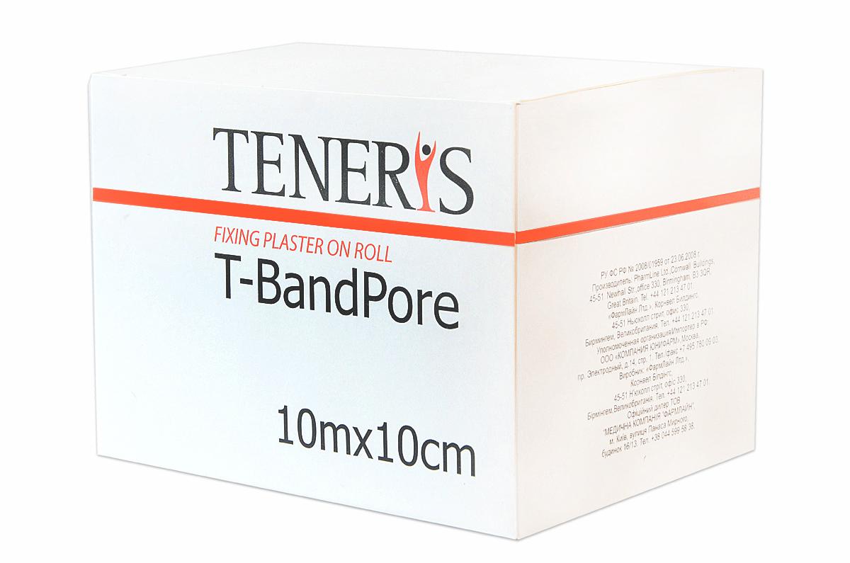 Teneris Адгезивный бинт на нетканной основе T-BandPore, д 75 х ш 75 х в 102 - Перевязочные материалы