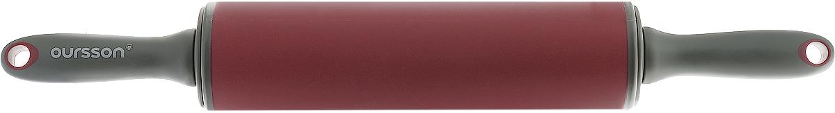 Скалка Oursson, цвет: красный, серый, длина 50 см16190Скалка Oursson, выполненная из пластика и силикона, предназначена для раскатывания теста. Эргономичные подвижные ручки и вращающийся валик делают работу быстрой и приятной. Теперь вам не потребуется прилагать много усилий, чтобы раскатать тесто. Общая длина скалки (с ручками): 50 см. Длина валика: 25,5 см. Диаметр валика: 6,5 см.