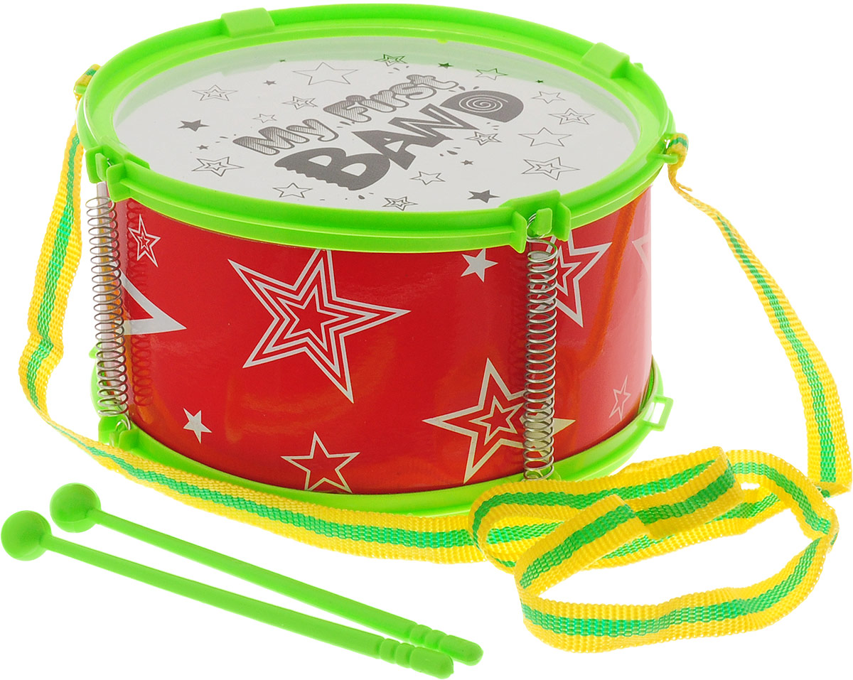 Veld-Co Музыкальный инструмент Барабан цвет красный