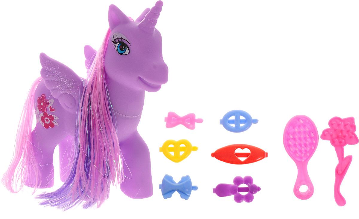 Карапуз Игровой набор Милый пони цвет фиолетовый