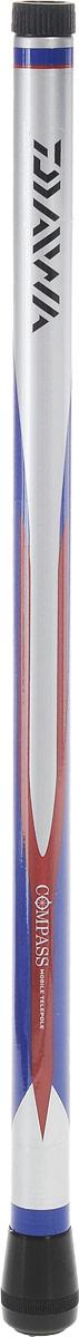 Удилище маховое Daiwa Compass Mobile Telepole, 4 м010-01199-23Телескопическое маховое удилище Daiwa Compass Mobile Telepole оснащено короткими коленами. В собранном состоянии длина составляет всего 42 см, что позволит вам взять удилище в любое путешествие. Бланк из графитового материала делает удилище легким, но исключительно прочным.