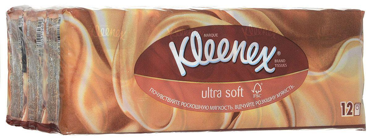 Kleenex Платочки носовые Ультрасофт мини 7 х 12 штSC-FM20104Яркая и привлекательная упаковка говорит о высоком качестве продукта, передает непревзойденную мягкость. Клинекс Ультрасофт – изысканные и премиальные салфетки.