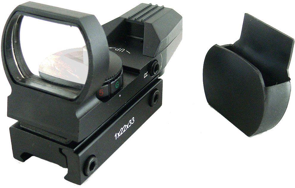 Прицел коллиматорный  Target Optic  1x33, открытый на Weaver, со сменной маркой - Стрелковый спорт