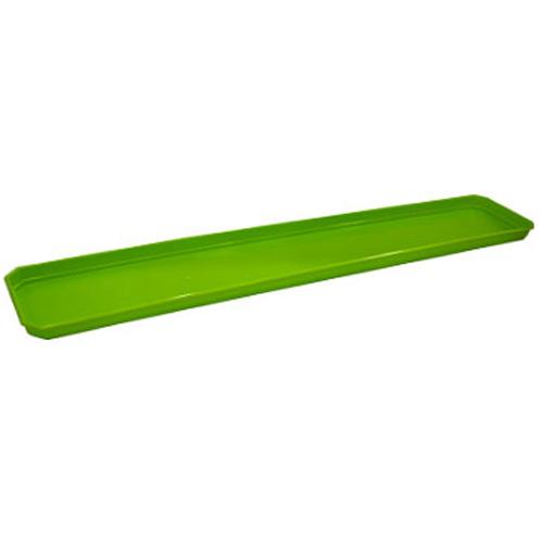 Поддон для балконного ящика 60 см салатовый531-321InGreen