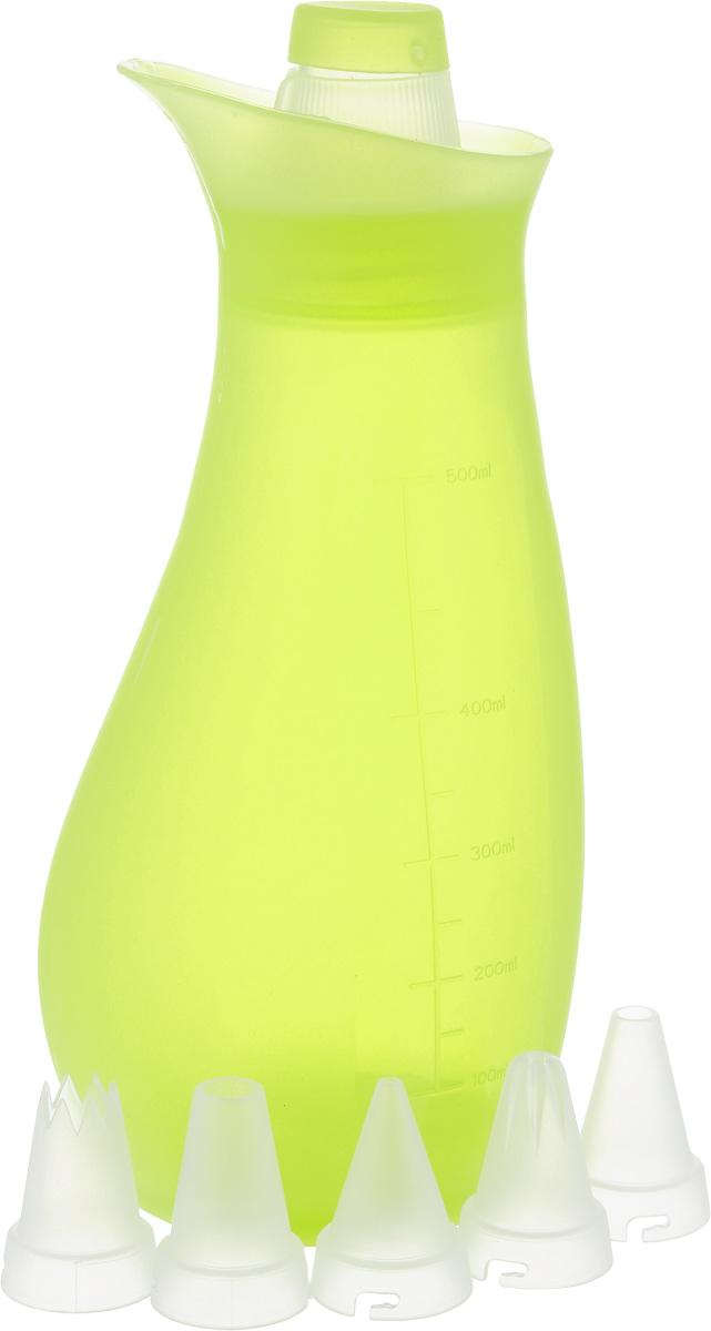 Набор кондитерский Oursson Bon Appetit, цвет: зеленое яблоко, 6 предметов кондитерский набор oursson ck3601sp ga зеленое яблоко