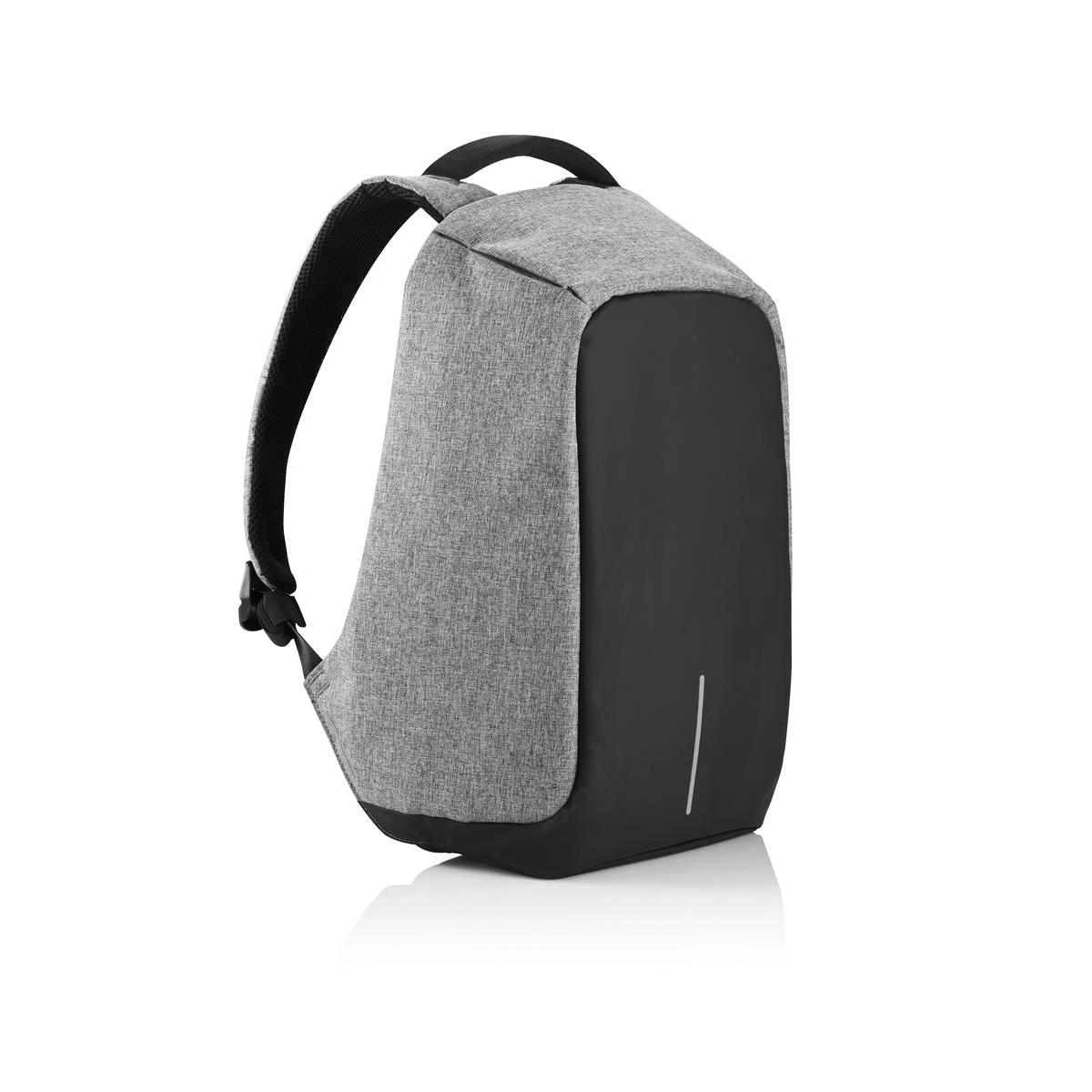 Рюкзак для ноутбука до 15 XD Design Bobby, цвет: серый. Р705.542RivaCase 7560 blue• Полная защита от карманников: не открыть, не порезать• USB-порт для зарядки гаджетов от спрятонного внутри рюкзака аккумулятора• Светоотражающие полосы• Супер-легкий: на 25% легче аналогов• Отделение для ноутбука до 15,6• Отделение для планшета• Влагозащита• Лямка для крепления на чемодан