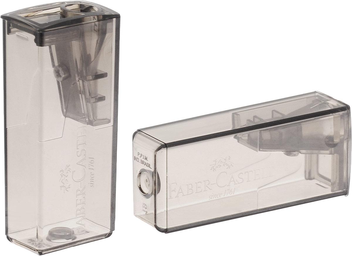 Точилки Faber-Castell предназначены для затачивания карандашей диаметром 8 мм. Полупрозрачные контейнеры позволяют визуально определить уровень заполнения и вовремя произвести очистку. Острые лезвия обеспечивают высококачественную и точную заточку деревянных карандашей. В комплекте две точилки серого цвета.