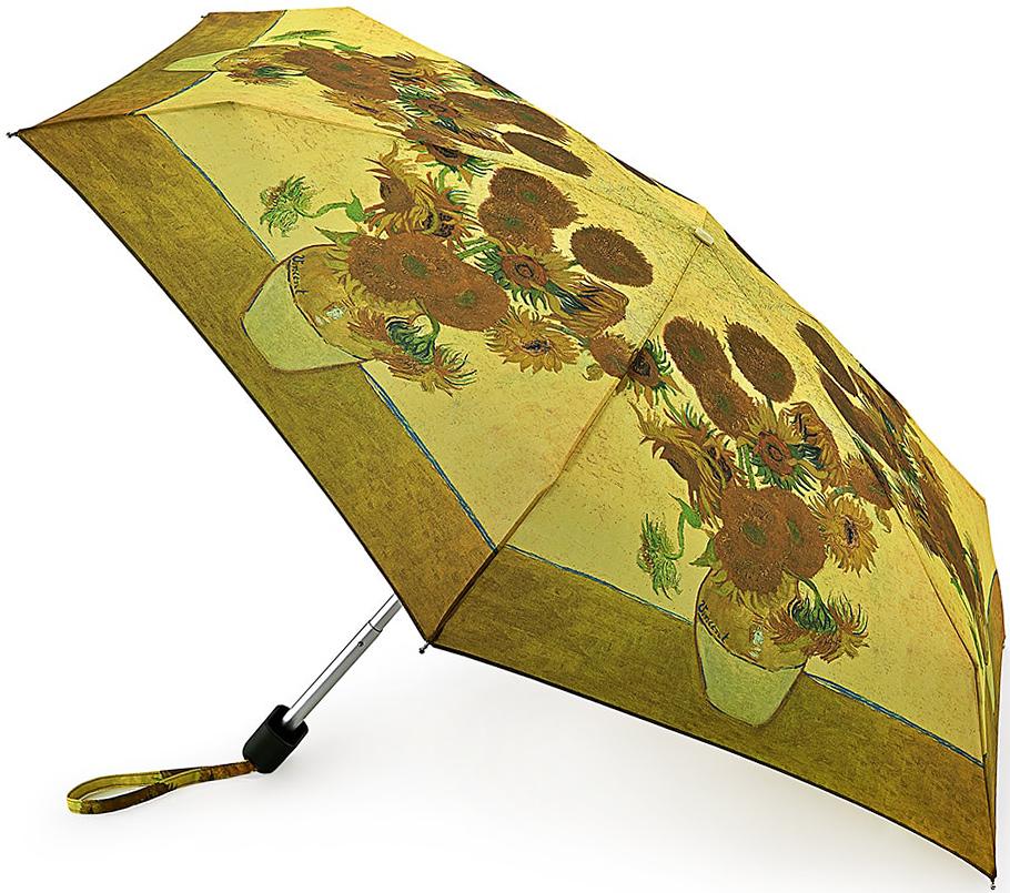 Зонт женский Fulton, механический, 5 сложений, цвет: золотисто-бежевый. L794-23482591АСтильный механический зонт Fulton имеет 5 сложений, даже в ненастную погоду позволит вам оставаться стильной. Легкий, но в тоже время прочный алюминиевый каркас состоит из шести спиц с элементами из фибергласса. Купол зонта выполнен из прочного полиэстера с водоотталкивающей пропиткой. Рукоятка закругленной формы, разработанная с учетом требований эргономики, выполнена из каучука. Зонт имеет механический способ сложения: и купол, и стержень открываются и закрываются вручную до характерного щелчка.