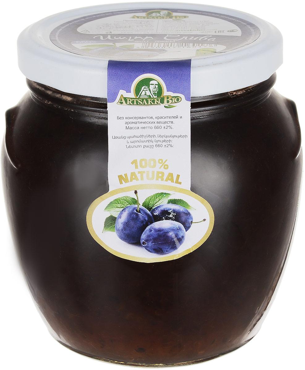 Artsakh Bio джем из сливы, 660 г0120710Сливовый джем - это вкусное сладкое лакомство и настоящий кладезь витаминов. В химическом составе сливового джема содержатся витамины группы А, В, РР, Е, С, а также бета-каротин и холин. Кроме того, сливовый джем обогащен калием, фосфором, магнием, железом, натрием и кальцием.