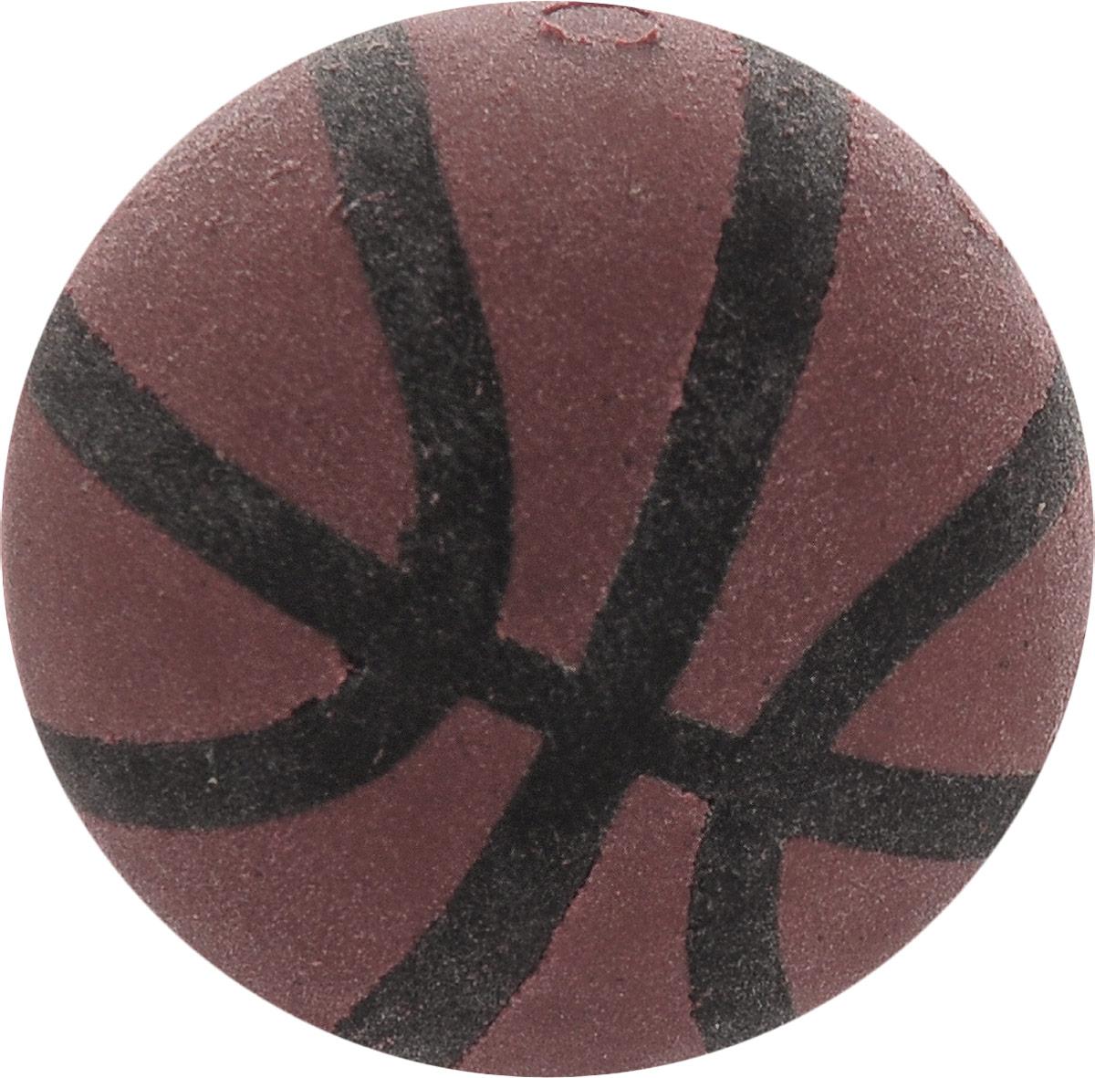 Brunnen Ластик Мяч баскетбольный цвет коричневыйE7536Ластик Brunnen Мяч баскетбольный станет незаменимым аксессуаром на рабочем столе не только школьника или студента, но и офисного работника.Он легко и без следа удаляет надписи, сделанные карандашом. Выполнен ластик из прочного и безопасного материала.