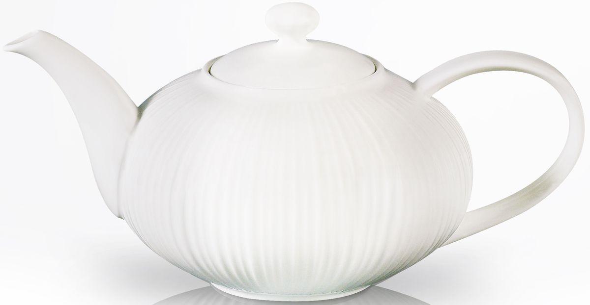Заварочный чайник Fissman Elegance White, 1 л. 9351VT-1520(SR)Заварочный чайник Fissman Elegance White изготовлен извысококачественной керамики и снабжен крышкой. Глянцевый корпусобеспечивает легкую очистку. Лаконичный дизайн изделия прекрасно впишется в любой интерьер. Чайник поможет заварить крепкий ароматныйчай и великолепно украсит стол к чаепитию.Объем: 1 л.