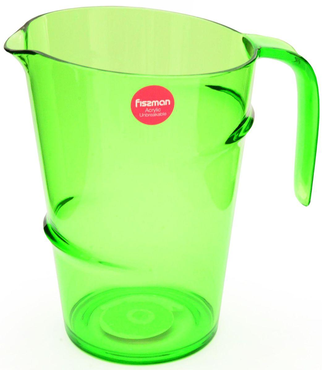 Кувшин Fissman, 2,2 л. 9426VT-1520(SR)Кувшин Fissman, выполненный из высококачественного прочного акрила, элегантно украсит ваш стол. Кувшин оснащен удобной ручкой для переноски. Форма носика обеспечивает наливание жидкости без расплескивания.Изделие прекрасно подойдет для подачи воды, сока, компота и других напитков. Объем: 2,2 л.